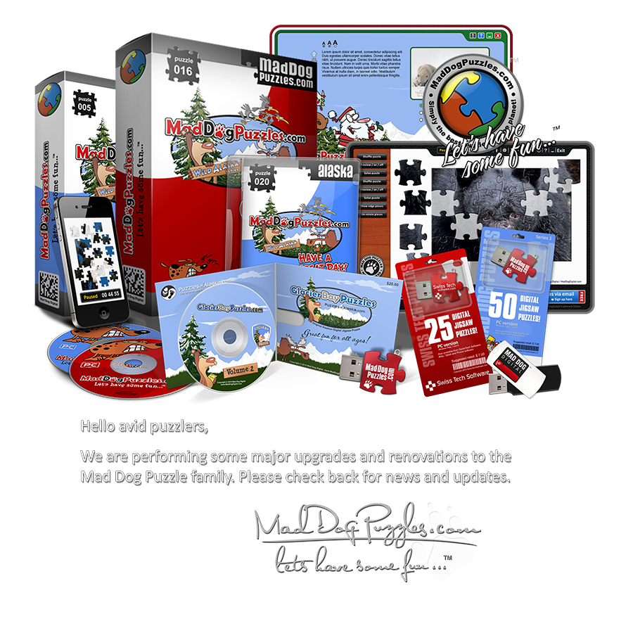 Welcome to the official Mad Dog Puzzles website on MadDogPuzzles.com